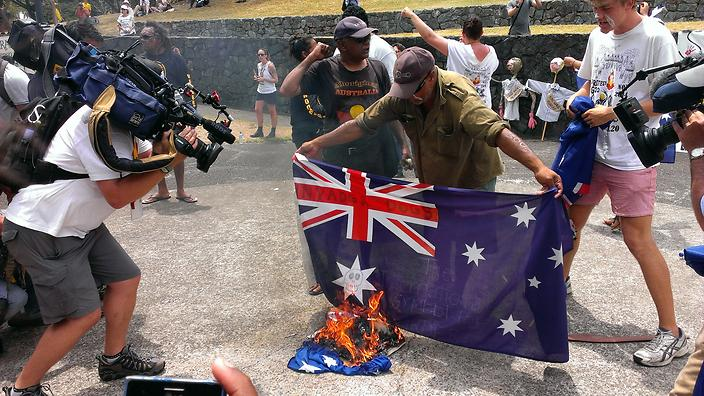 Bloody Australia Day